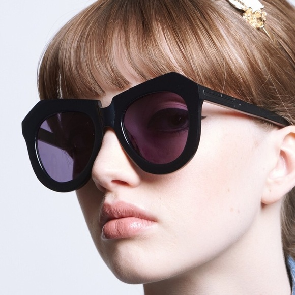 495a3ab1c4b Karen Walker Accessories - Karen Walker One Worship Sunglasses- Black